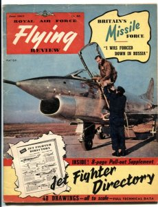 Royal Air Force Flying Review June 1957- Jet Fighter directory