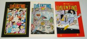 Valentino #1-3 complete series - jim valentino's autobiographical comics set