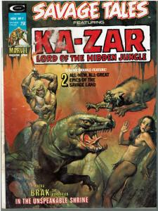 Savage Tales #7 (1971 Magazine) - READER COPY ONLY!