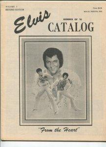 Elvis Catalog 1981-32 pages-Elvis memorabilia for sale-FN/VF