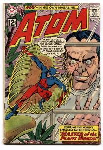 ATOM #1 comic book 1962-DC COMICS-FIRST ISSUE 1ST PLANT MAN