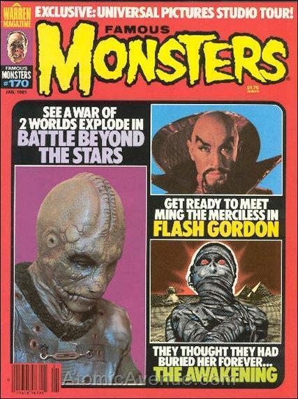 Famous Monsters of Filmland #170 VG; Warren | low grade - save on shipping - det