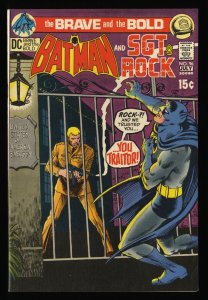 Brave And The Bold #96 VF+ 8.5 Batman Sgt. Rock!
