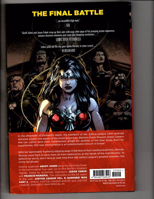 Justice League Darkseid War Part 2 Vol #8 DC Comics HARDCOVER