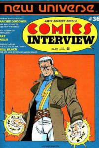 Comics Interview #36 VF; Fictioneer   save on shipping - details inside