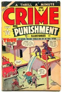 CRIME & PUNISHMENT #49 1952-CHARLES BIRO-LEV GLEASON VG