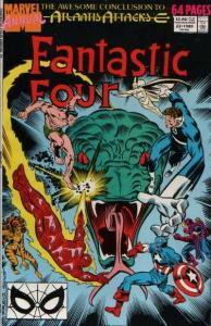 Fantastic Four (1961 series) Annual #22, VF+ (Stock photo)
