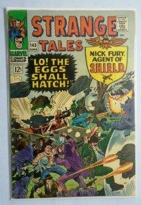 Strange Tales (1st Series) #145, Cover Split to One Staple 3.0 (1966)