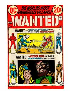 WANTED (1972) 8 FINE PLUS  July 1973