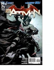 Batman (2011) #6 Fine+ (6.5) New 52 Variant Cover