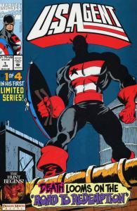 U.S.Agent #1 VF/NM; Marvel   save on shipping - details inside