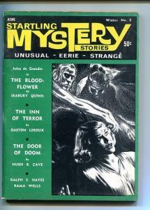 STARTLING MYSTERY STORIES- WINTER-#3-1966-VF-CAVE- QUINN-VIRGIL FINDLAY COVER VF