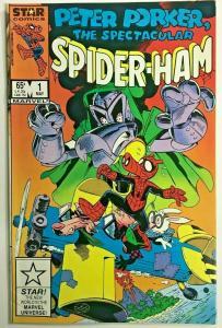 PETER PORKER SPIDER-HAM#1 VF/NM 1985 MARVEL COMICS