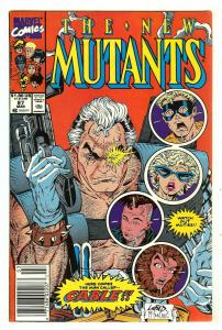 New Mutants 87   1st full Cable