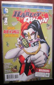Harley Quinn (2014) Annual #1C, VF Not available for international purchase due
