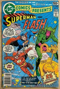 DC COMICS PRESENTS #2 (DC,9/1978) VERY GOOD (VG) Superman/Flash Race!