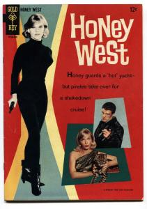 Honey West #1 comic book 1966- Anne Frances photo cover-Gold Key VF