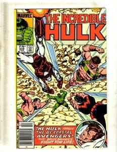 14 Hulk Comics #316 317 335 345 348 350 350 351 352 356 357 377 391 400 J417