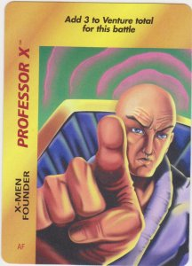 1995 Marvel Overpower Card Game Professor X