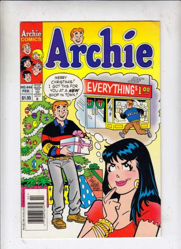 Archie #444 (Feb-96) NM- High-Grade Archie