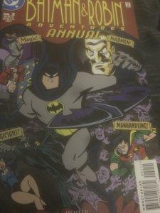DC Batman & Robin Adventures Annual #2 Mint