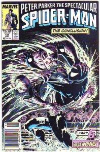 Spider-Man, Peter Parker Spectacular #132 (Nov-87) NM Super-High-Grade Spider...