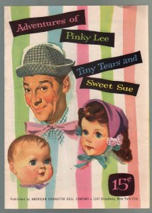 Adventures of Pinky Lee 1955-American Character Doll Co. catalog-VF
