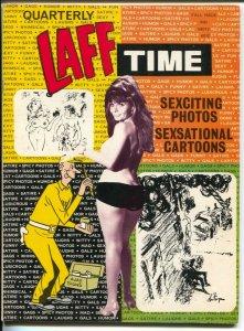 Laff Time-Fall 1973-Crestwood-cartoons-gags-jokes-high grade-comic strips-VF