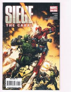 Siege The Cabal # 1 NM Marvel Comic Book One-Shot Iron Man Doctor Doom S80