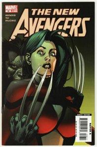New Avengers #36 (Marvel, 2008) FN
