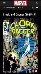 Cloak en Dagger 8.0 VF/NM (NL) #1, 2