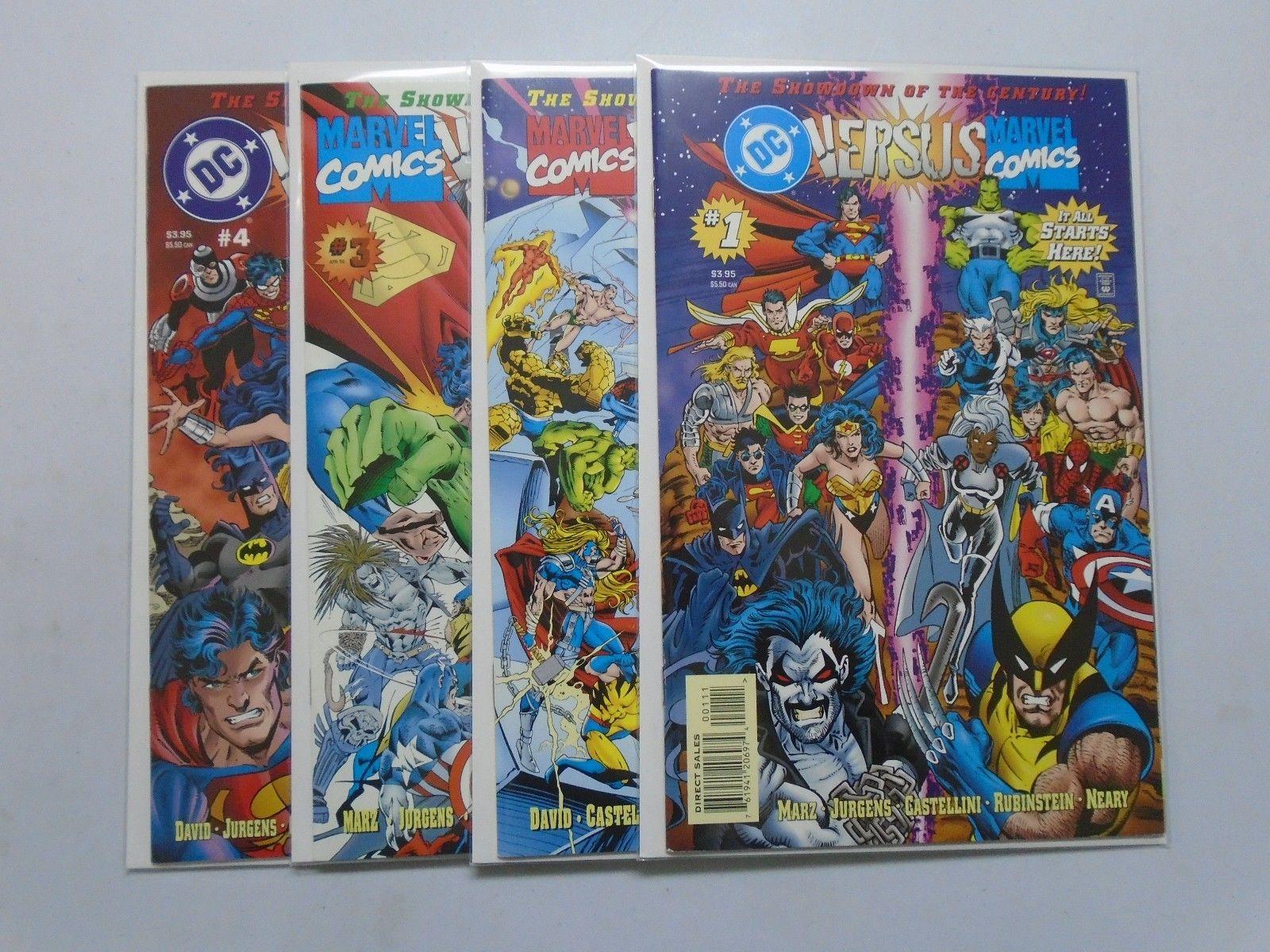 Marvel vs DC #2 1996 FN 6.0 Stock Image