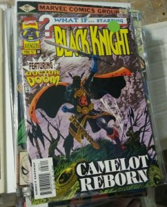 What If...? # 97  1997, Marvel doctor doom conquered camelot +black knight