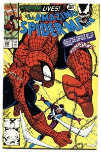 AMAZING SPIDER-MAN #345 1990 MARVEL - Venom issue comic book