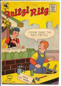 Fritzi Ritz #39 1956-St John-Ernie Bushmiller-Peanuts-Charles Schulz-VG