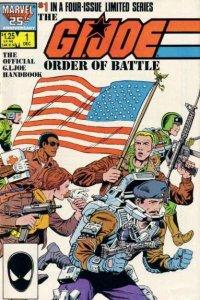 G.I. Joe Order of Battle #1, NM (Stock photo)