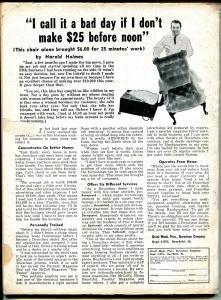 South Sea Stories 5/1963-terrified bound babe-slave girl-cheesecake pix-G/VG