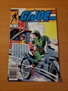 G.I. Joe A Real American Hero #44 NEWSSTAND  ~ VF NEAR MINT NM ~ (1986, Marvel)