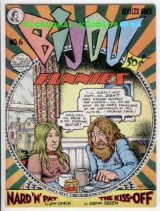 BIJOU FUNNIES #6, VF, Underground, Robert Crumb, Williamson, 1972, 2nd