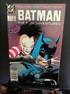 Batman #412 (1987) First Mime! Super High-Grade key issue  NM Wow