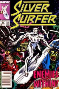 Silver Surfer (1987 series) #32, VF+ (Stock photo)