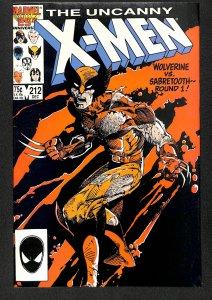 The Uncanny X-Men #212 (1986)