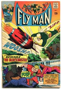 Fly Man #39 1966- Steel Sterling- Silver Age comic VG+