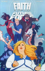 Faith and the Future Force #3A VF/NM; Valiant   save on shipping - details insid