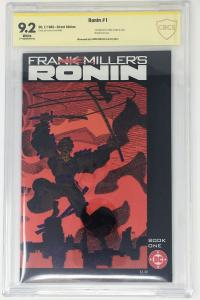 Ronin 1 - Frank Miller Signature - Movie in development - 1st App KEY