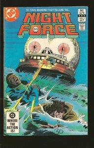 DC Comics Night Force #3 (1982)