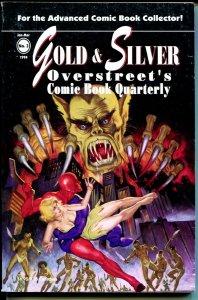 Gold & Silver Overstreet's Comic Book Quarterly #3 1994-DeSoto-Steranko-FN-