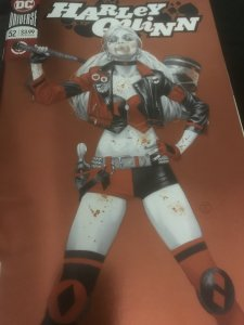 DC Harley Quinn #52 Mint Orange Cover Hot