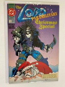 Lobo Paramilitary Christmas Special #1 DC 8.0 VF (1991)