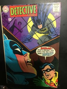 Detective Comics #376 (1968) Elongated man key! Mid high grade FN/VF. Wow
